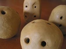 トンボ玉造り体験