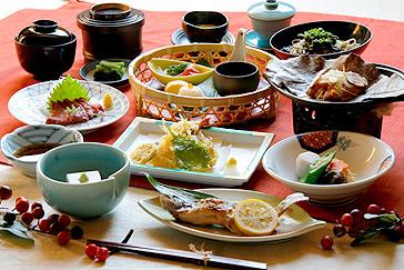 木曽駒高原・森のホテル 料理